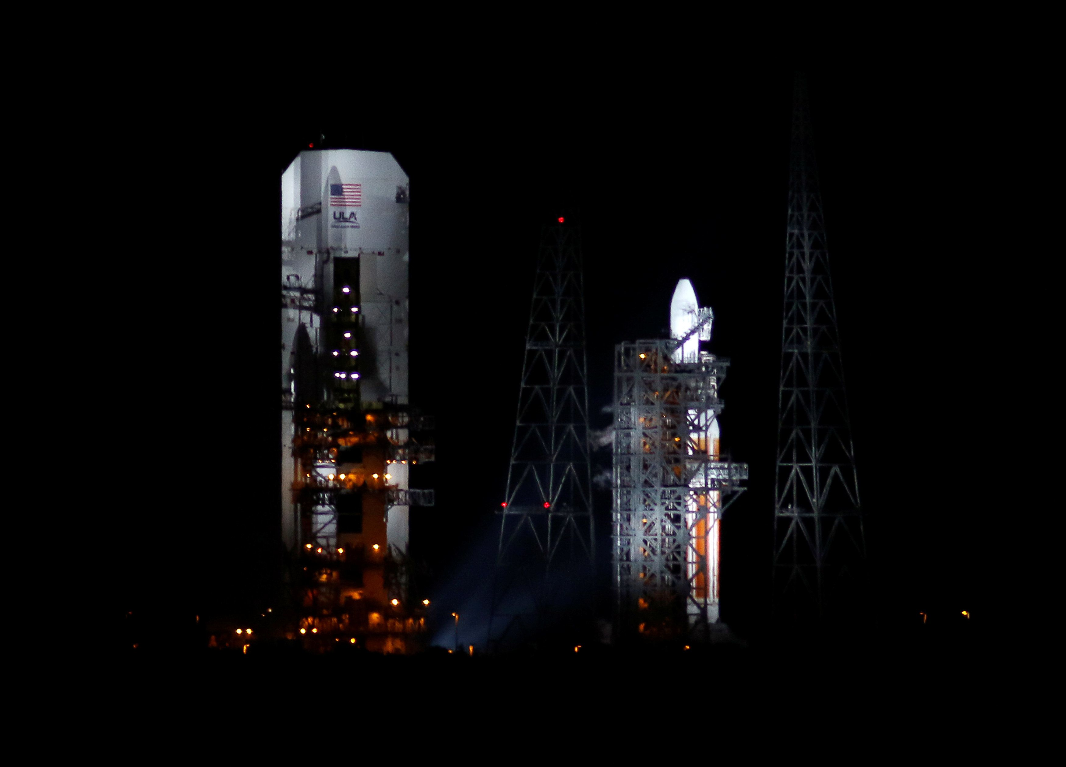 NASA's Parker Solar Probe was scrubbed from launching from Kennedy Space Center in Cape Canaveral,