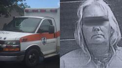Frau stiehlt einen Krankenwagen – mit einer absurden Begründung