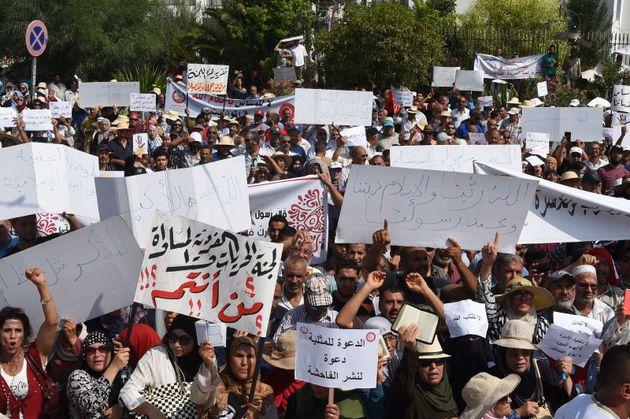 Les images de la manifestation contre la Colibe. Le rapport de la Colibe n'est pas contradictoire avec...