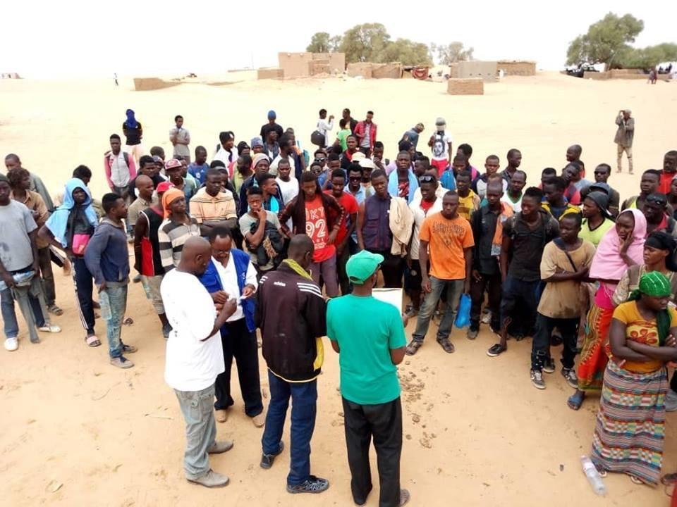 128 migrants secourus par l'ONU — Niger