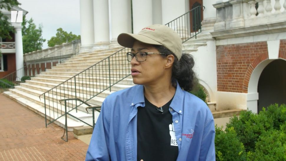 Jalane Schmidt, a University of Virginia professor and activist, takes HuffPost on a tour of Charlottesville.