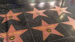 À Hollywood, un artiste pro-Trump recouvre plusieurs étoiles du Walk of Fame avec celle du