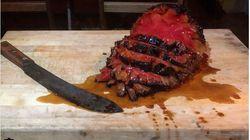 뉴욕의 한 식당이 개발한 고기 없는 훈제요리의 정체(사진,