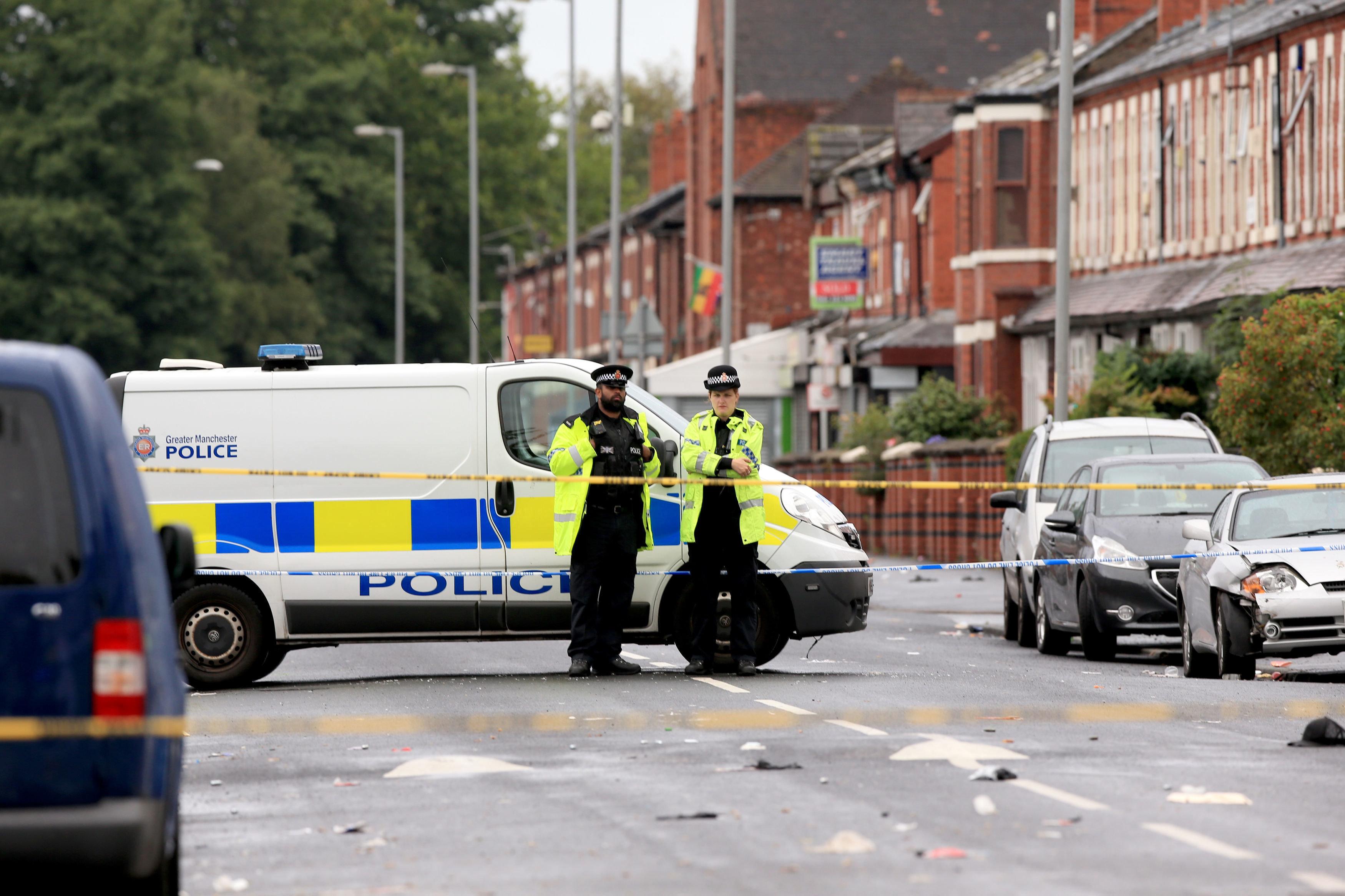 Twelve People Injured After Manchester