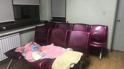 에어컨 없는 성신여대 기숙사, 학생들은 한달째 노숙