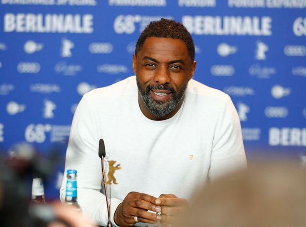 Idris Elba has tested positive for