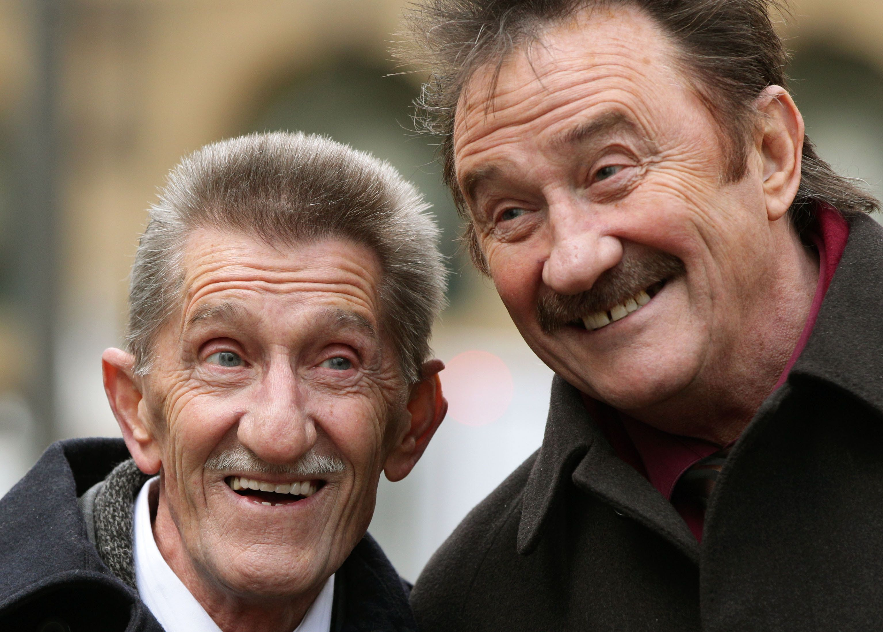 Football Fans Pay Tribute To Barry Chuckle With 'To Me, To You' Chant As Paul Chuckle Watches