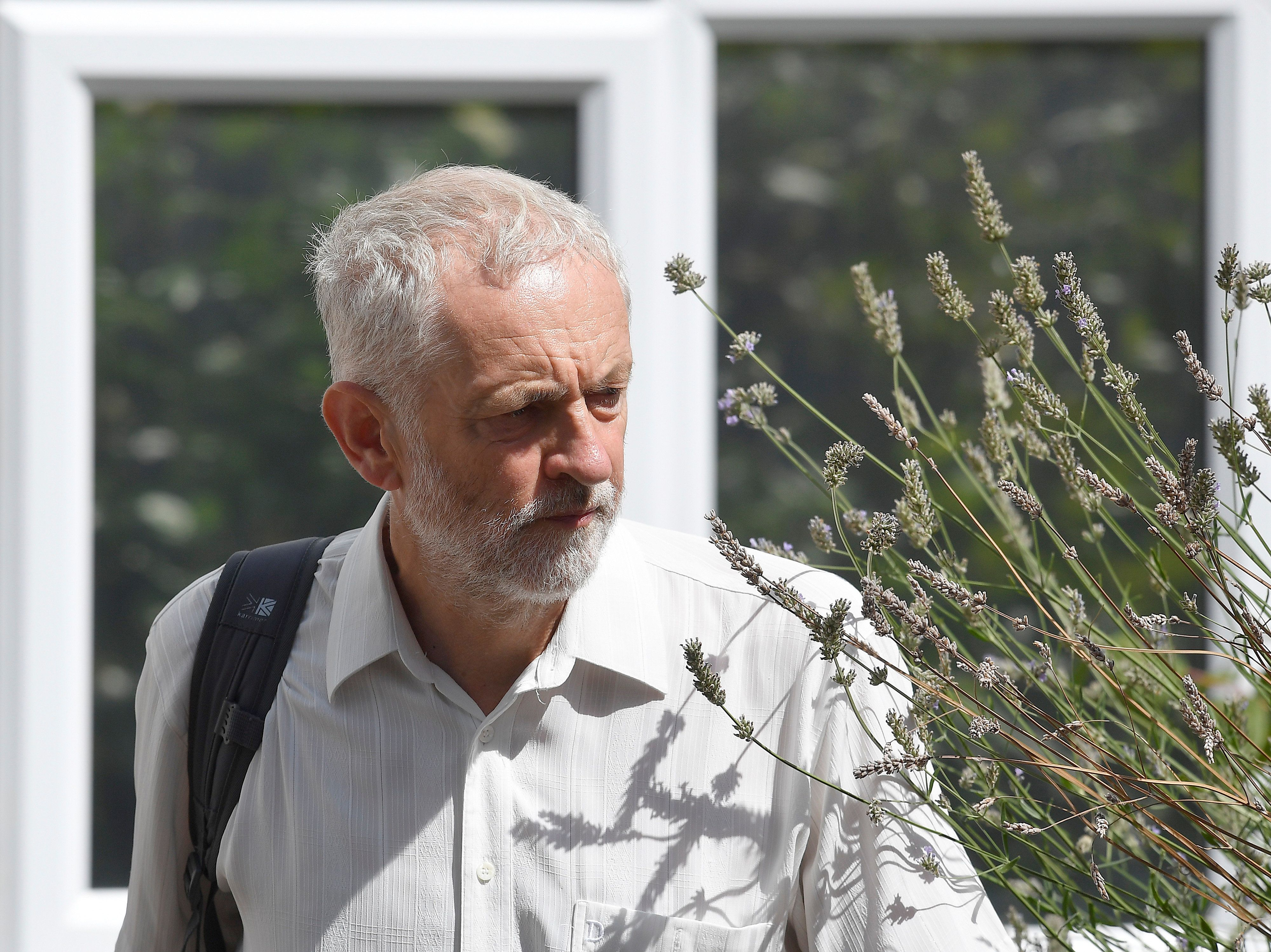 Sajid Javid Suggests Jeremy Corbyn Should Go Over Wreath Pictures