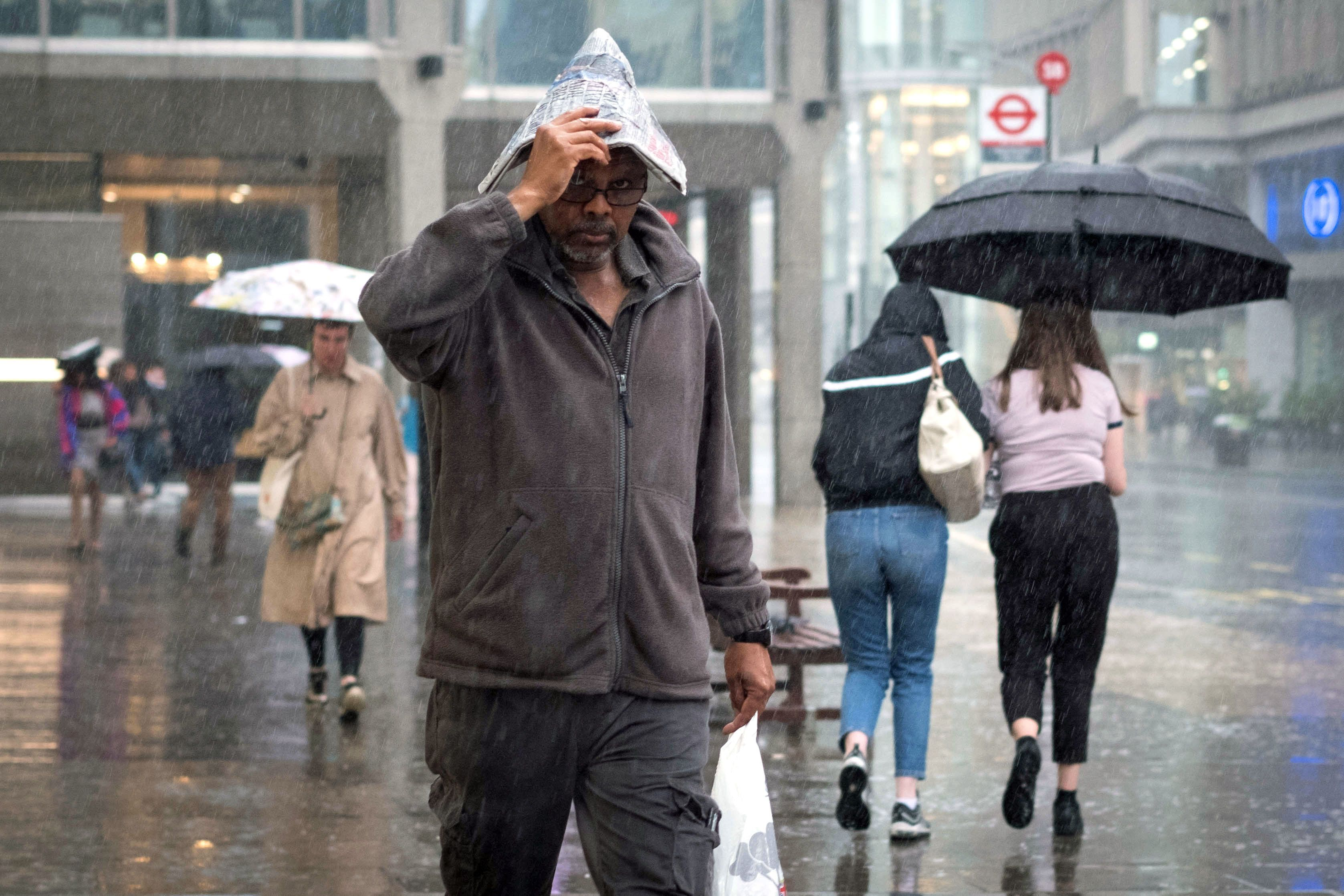 Storm Ernesto Set To Unleash Heavy Rain And Strong Winds This