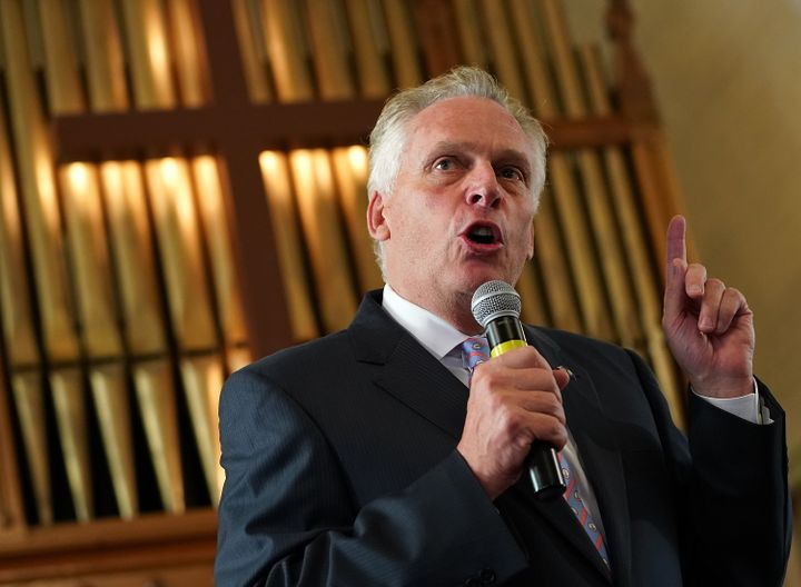 Former Virginia Gov. Terry McAuliffe (D) thinks lawmakers should consider pursuing impeachment against President Donald Trump