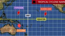 '허리케인 헥터'가 '태풍 헥터'로 바뀔 가능성이 높은