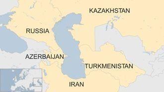 카스피해는 러시아, 이란 등 5개 나라에 둘러싸여
