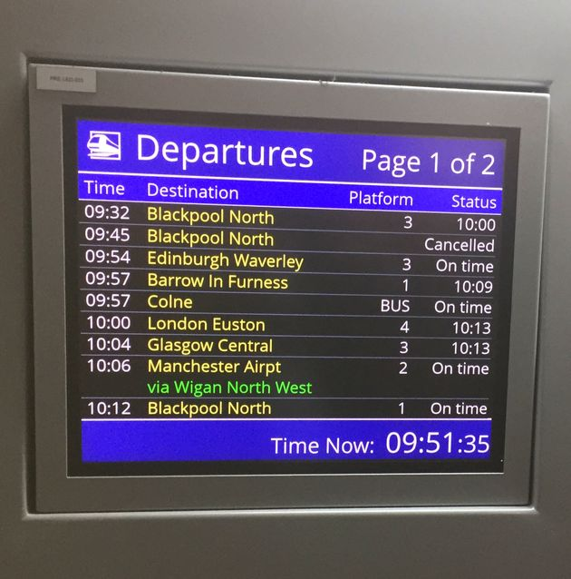 Northern Mayors Andy Burnham And Steve Rotheram Demand Rail Fares Freeze Amid Commuter