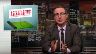 John Oliver discusses astroturhing on LastWeek Tonight