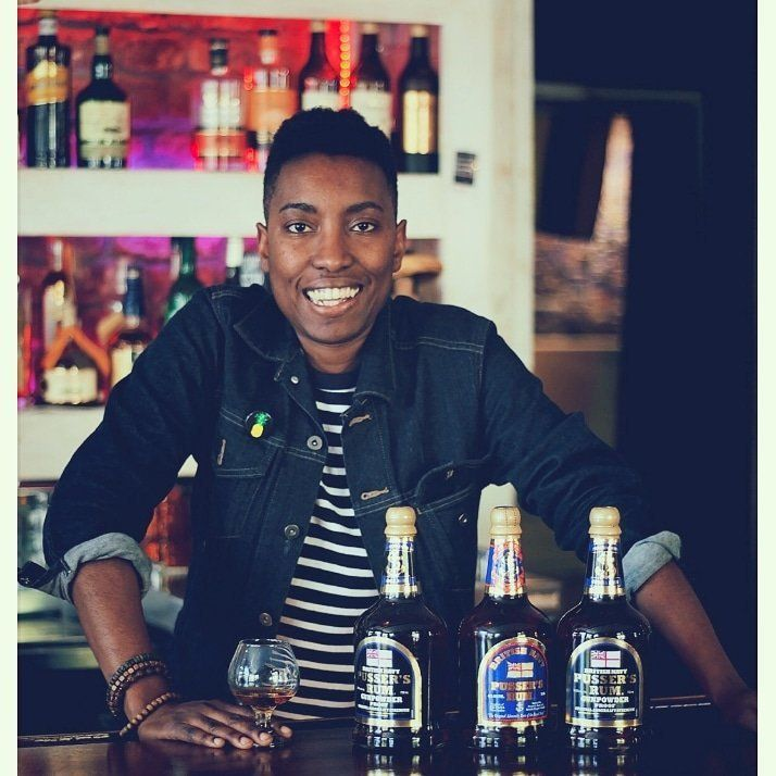 Shannon Mustipher is the beverage director of Glady's in New York.