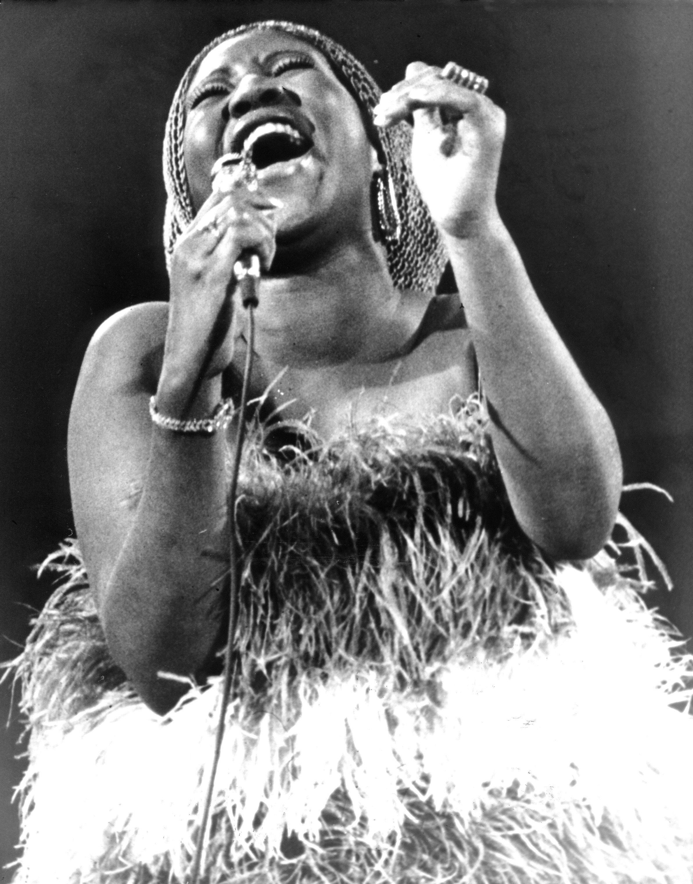 Aretha Franklin in 1971.