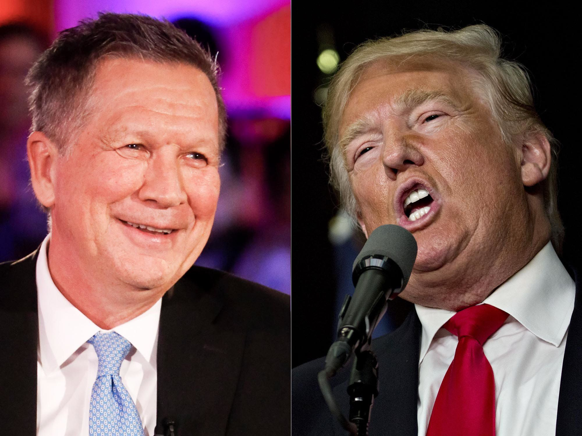 Ohio Gov John Kasich Blisters Trump With Hilarious GIF