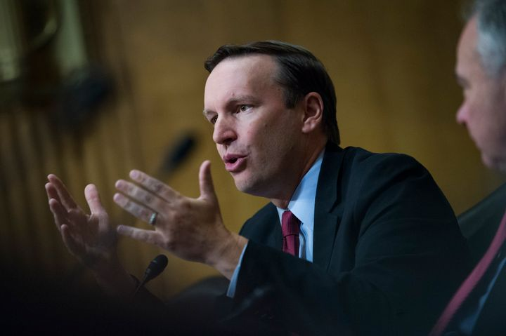 Sen. Chris Murphy (D-Conn.) at a Senate Foreign Relations Committee hearing earlier this month.