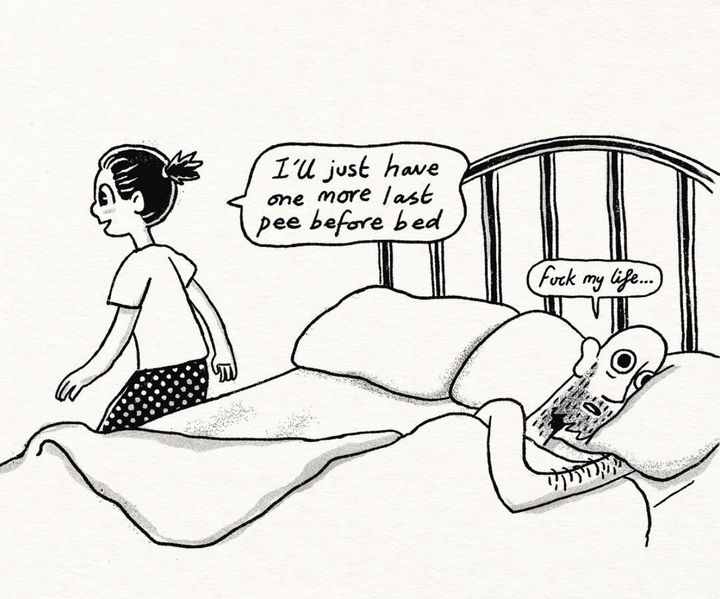23 Comics That Capture The Highs And Lows Of Sharing A Bed