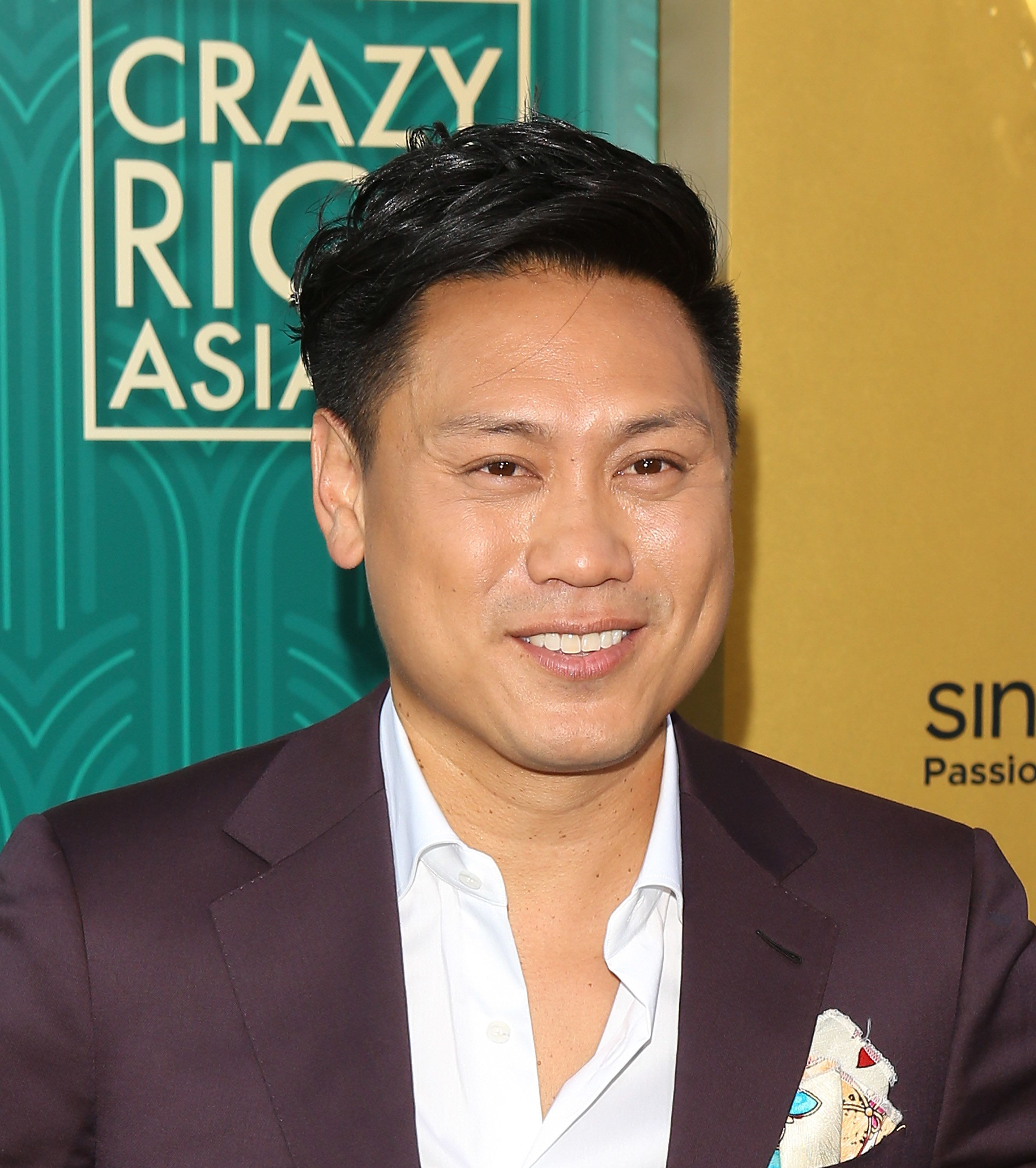 """Jon M. Chu arrives at the Los Angeles premiere of """"Crazy Rich Asians"""" on Aug. 7, 2018."""