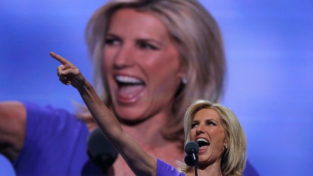 Conservative political commentator Laura Ingraham speaks during the third session of the Republican National Convention in Cleveland, Ohio, U.S. July 20, 2016. REUTERS/Brian Snyder