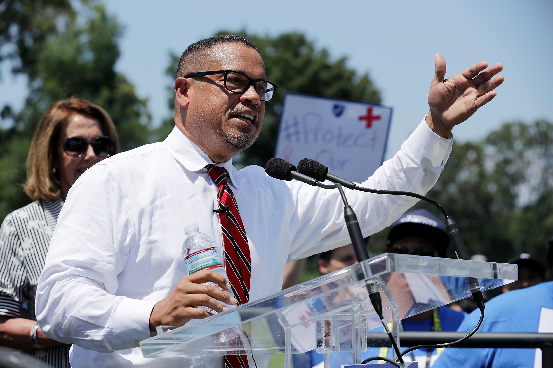 Most Top Democrats Progressive Groups Reserve Judgment On Keith Ellison Allegations