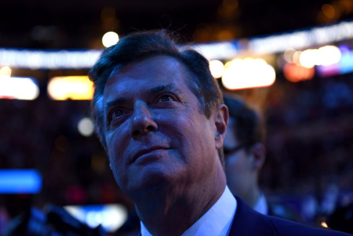 Trump campaign manager Paul Manafort at the Republican National Convention in Cleveland on July 21, 2016. In many ways,