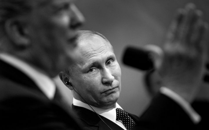 President Donald Trump's bewildering affinity for President Vladimir Putin raises the question of whether it's me