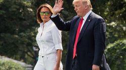 "Ex-Trump-Beraterin behauptet: ""Melania kann es nicht abwarten, Donald zu verlassen"""