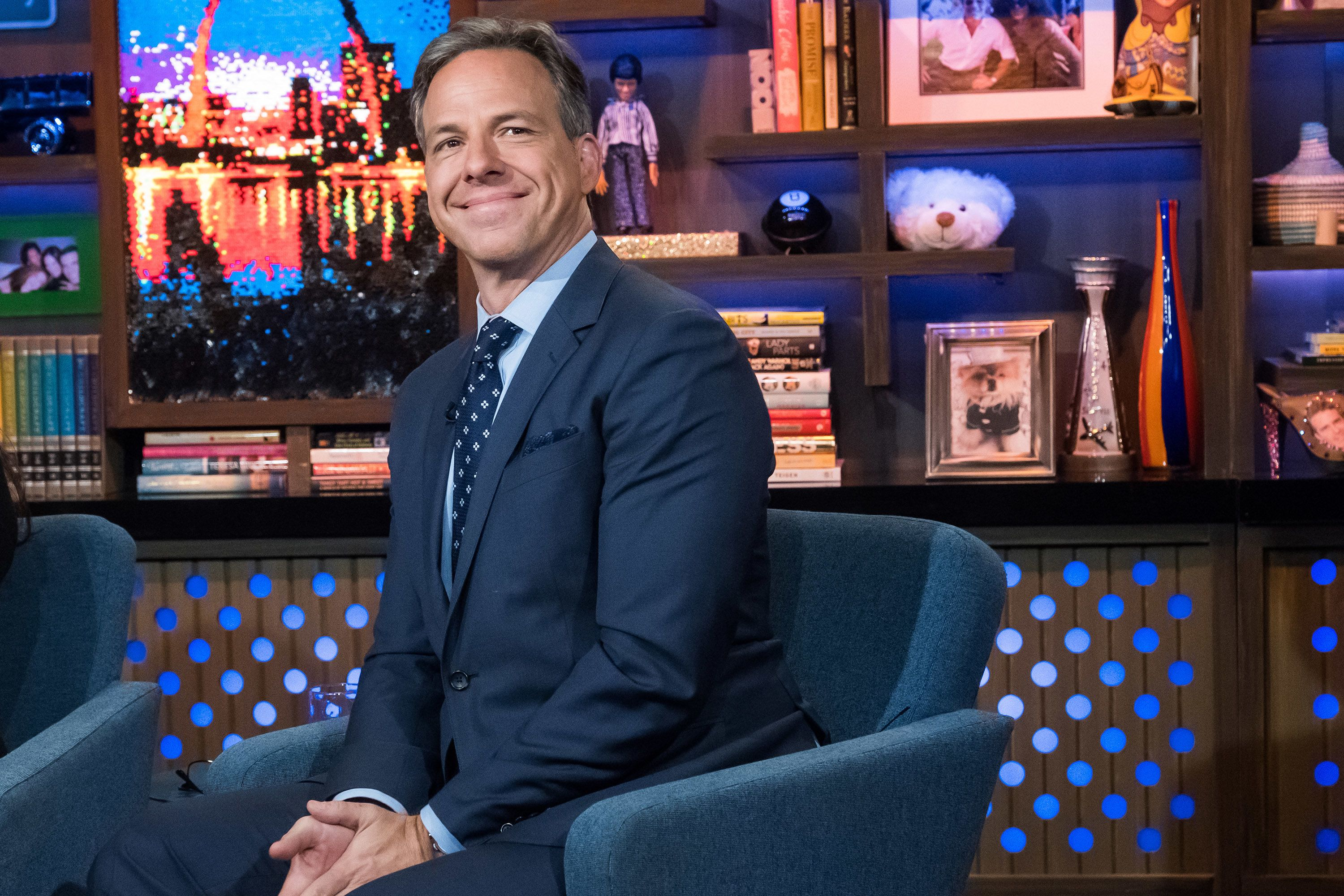 WATCH WHAT HAPPENS LIVE WITH ANDY COHEN -- Pictured: Jake Tapper -- (Photo by: Charles Sykes/Bravo/NBCU Photo Bank via Getty Images)
