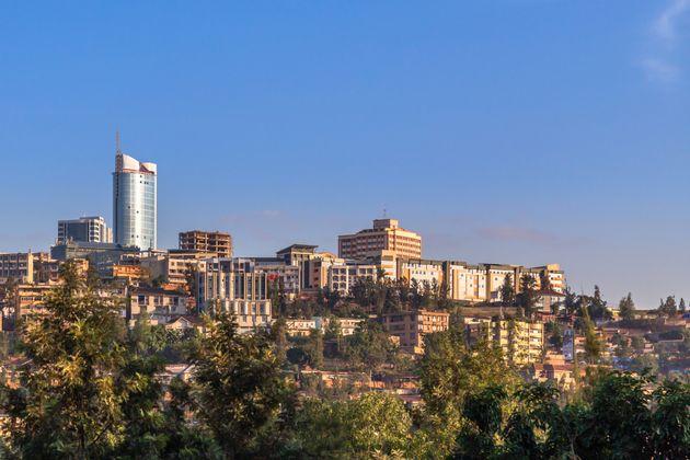 Le centre économique de Kigali, la capitale du