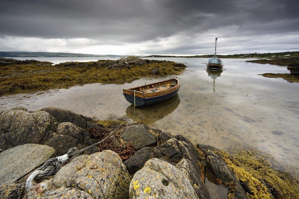 Wie sich die Bewohner schottischer Inseln gegen reiche Großgrundbesitzer zur Wehr