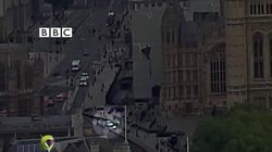 Rooftop Video Shows Moment Car Crashes In Westminster 'Terror' Incident