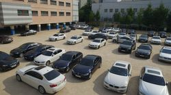 정부가 리콜 대상 BMW 차종의 전국 10개 청사 출입을