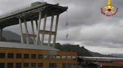 Σε κεραυνό μπορεί να οφείλεται η κατάρρευση της γέφυρας στην Γένοβα. Στους 35 οι νεκροί