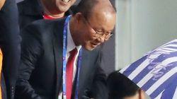 박항서의 베트남이 아시안게임 첫 경기서 3대0 대승을
