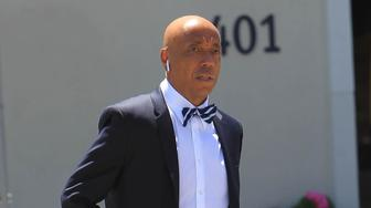LOS ANGELES, CA - JUNE 11:  Russell Simmons is seen on June 11, 2018  in Los Angeles, CA.  (Photo by SMXRF/Star Max/GC Images)