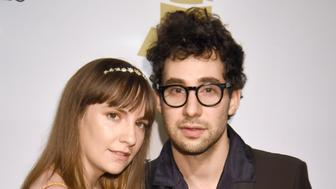 BEVERLY HILLS, CA - FEBRUARY 11:  Actor Lena Dunham (L) and musician Jack Antonoff attend the 2017 Pre-GRAMMY Gala And Salute to Industry Icons Honoring Debra Lee at The Beverly Hilton Hotel on February 11, 2017 in Beverly Hills, California.  (Photo by Jeff Kravitz/FilmMagic)