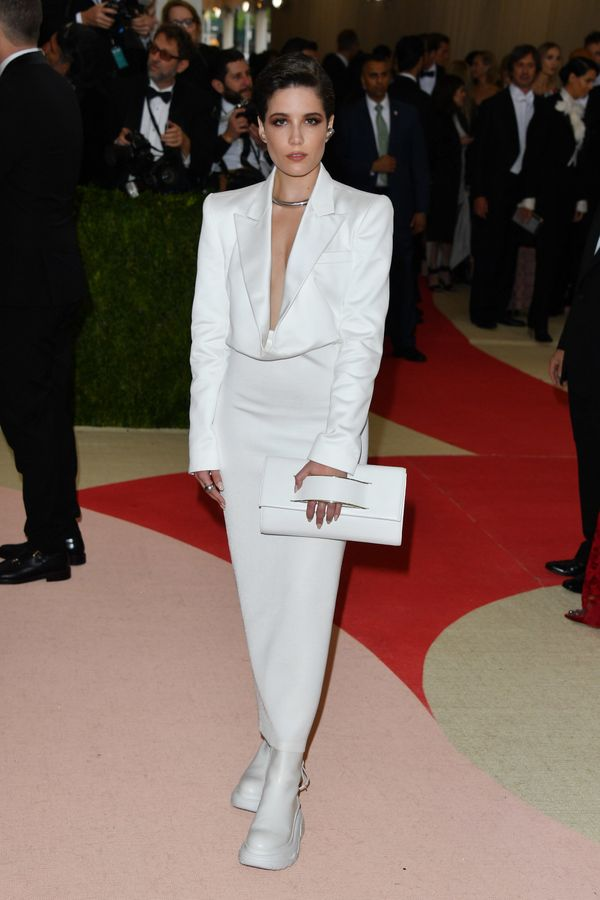 Walking the red carpet at the Met Gala in New York City on May 2.