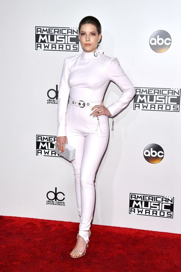 At the American Music Awards, Nov. 20 in Los Angeles.