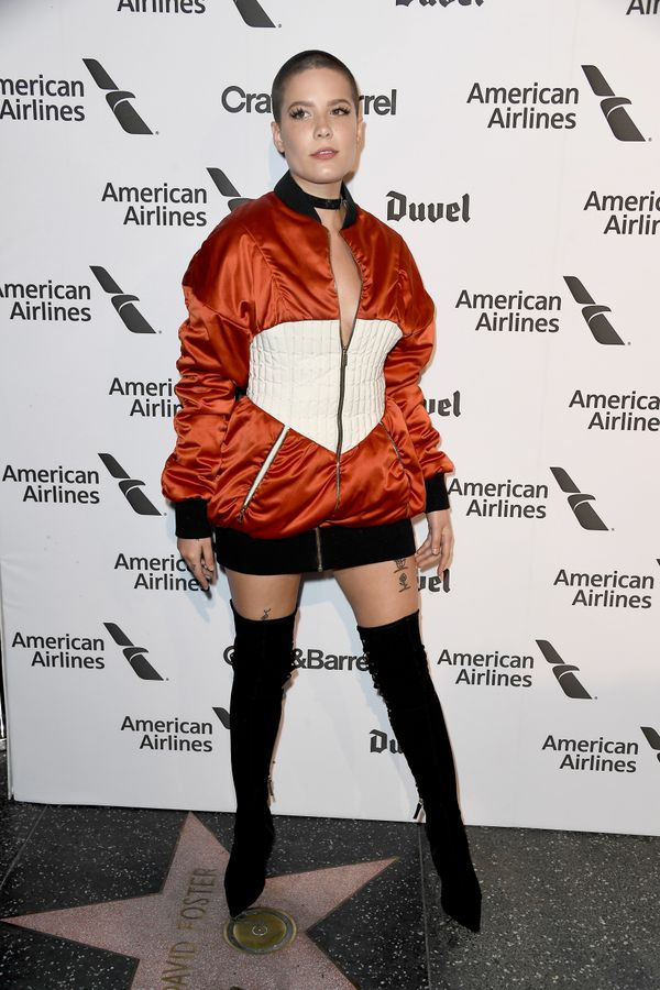 At Capitol Records' 75th anniversary gala, Nov. 15 in Los Angeles.