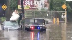 Νύφη διασώθηκε από αστυνομικούς την ώρα που πήγαινε στην