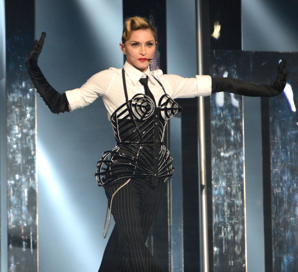 Madonna in 2012, on the 'MDNA'