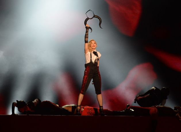 Madonna's performance of 'Living For Love' at the 2015 Brit Awards made headlines for all the wrong reasons