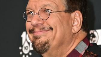 LAS VEGAS, NV - MARCH 02:  Penn Jillette attends the sixth annual 'One Night for One Drop' imagined by Cirque du Soleil, a show that raises awareness and funds for critical water issues worldwide, at Mandalay Bay Resort and Casino on March 2, 2018 in Las Vegas, Nevada.  (Photo by Mindy Small/FilmMagic)