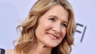HOLLYWOOD, CA - JUNE 07:  Actress Laura Dern arrives at the American Film Institute's 46th Life Achievement Award Gala Tribute to George Clooney on June 7, 2018 in Hollywood, California.  (Photo by Axelle/Bauer-Griffin/FilmMagic)