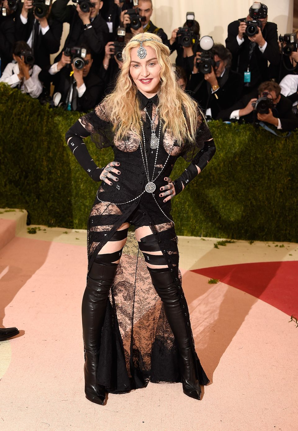 0a4c61ef81 60 Of Madonna's Most Iconic Fashion Moments Through The Years ...