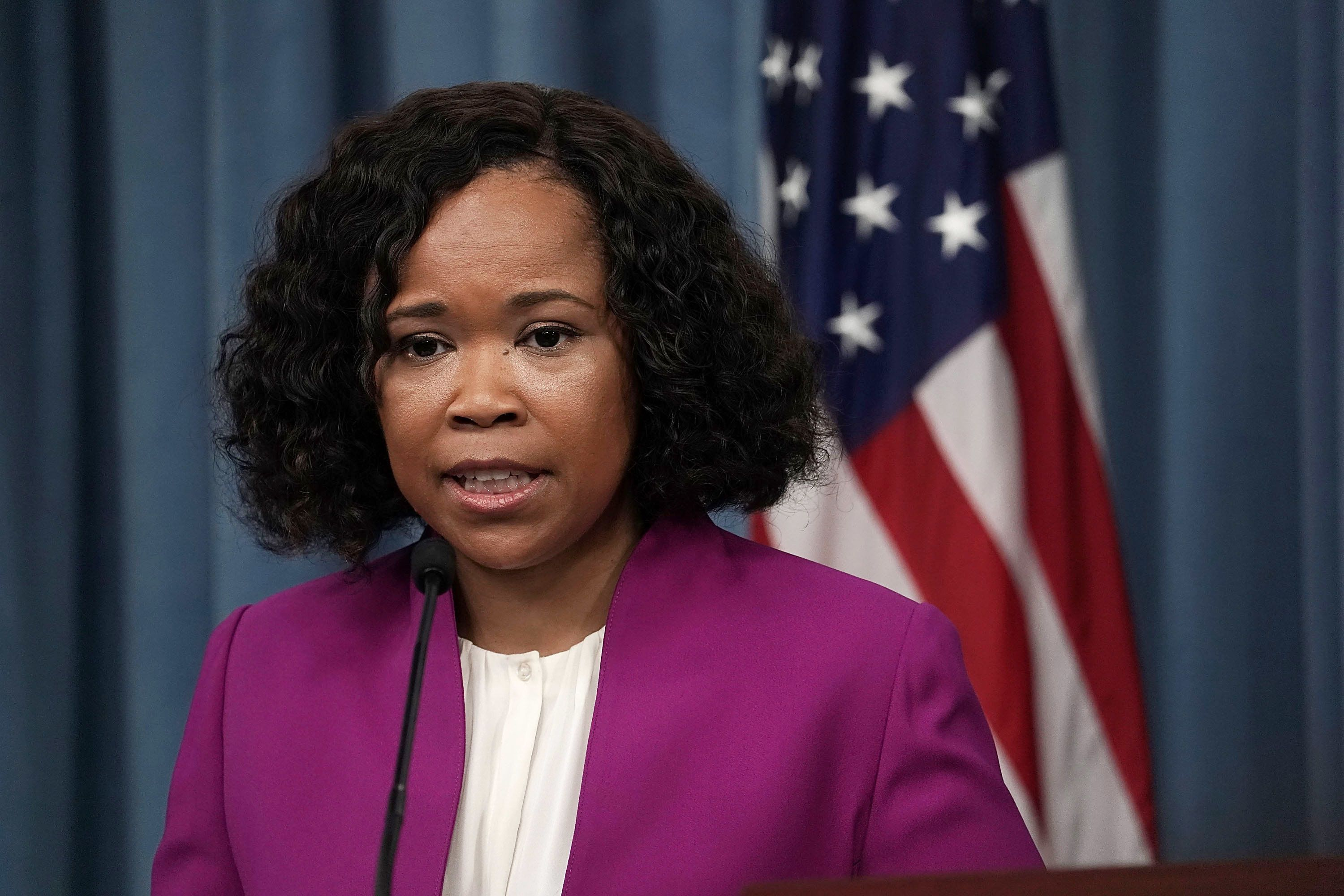 Pentagon Spokeswoman Dana White Under Investigation For Misusing Staff