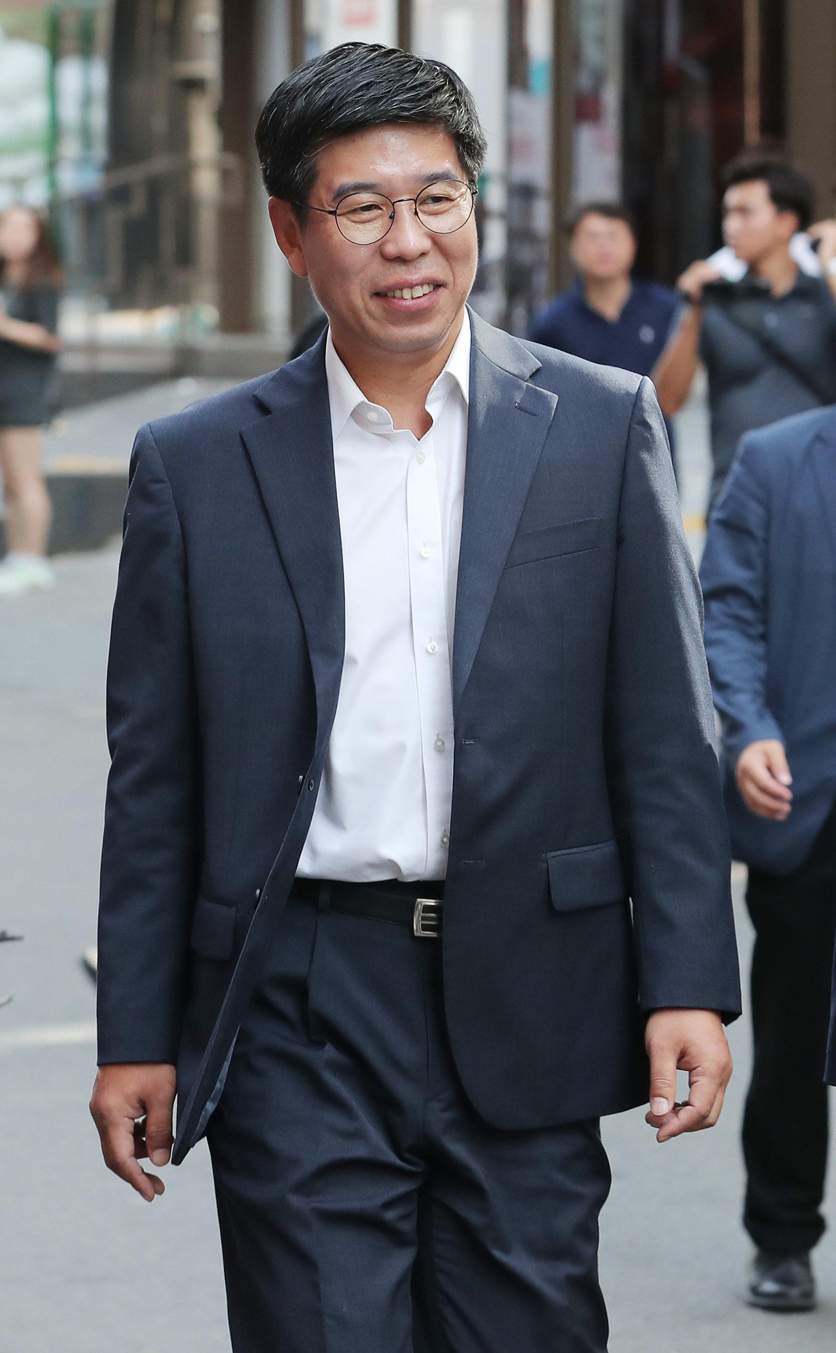 백원우 청와대 민정비서관이 '드루킹 특검'에