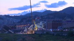 Genoa Bridge Collapse Search Operation